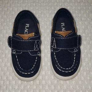 Capelli Boys New York Kids Chambray Tennis Sneakers Denim Blue 12 Shoes